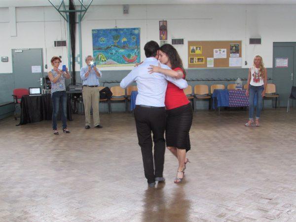 Cours collectif de tango argentin