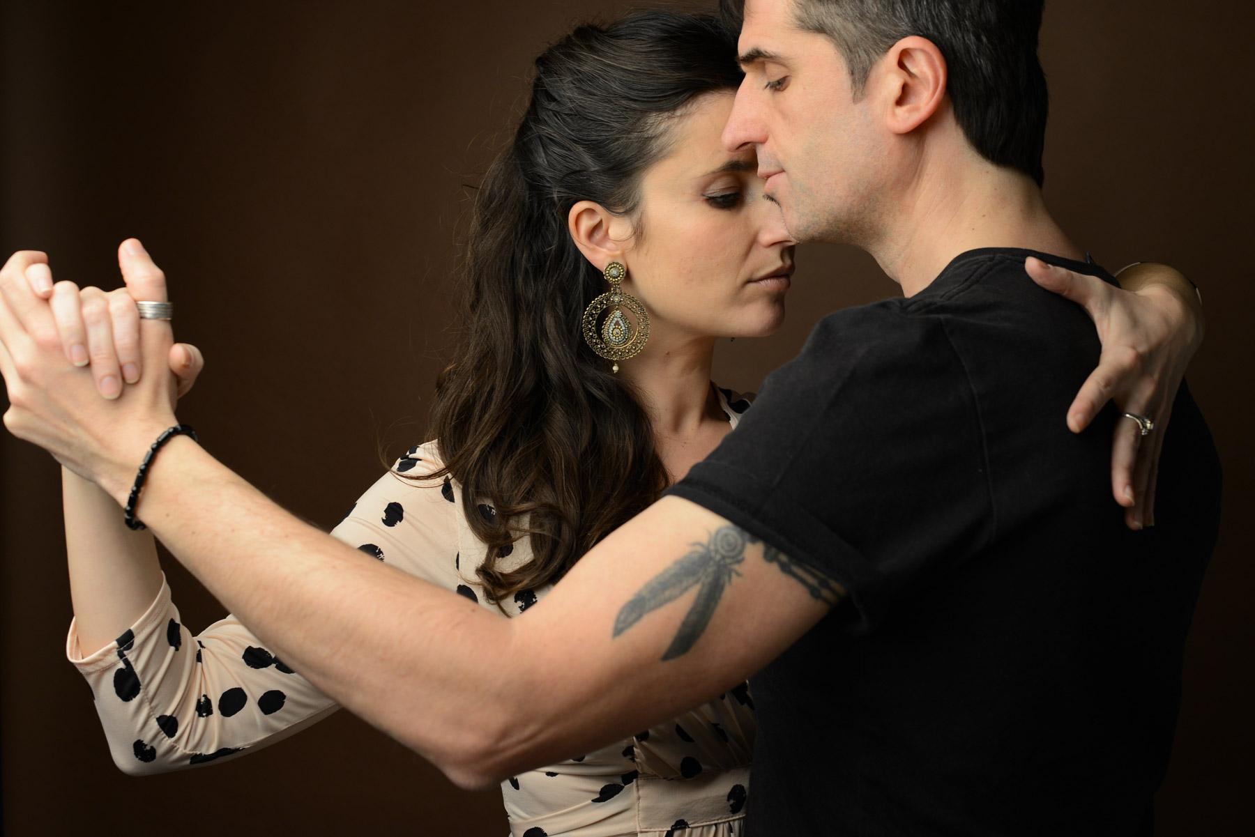 posture tango prise à san sebastian